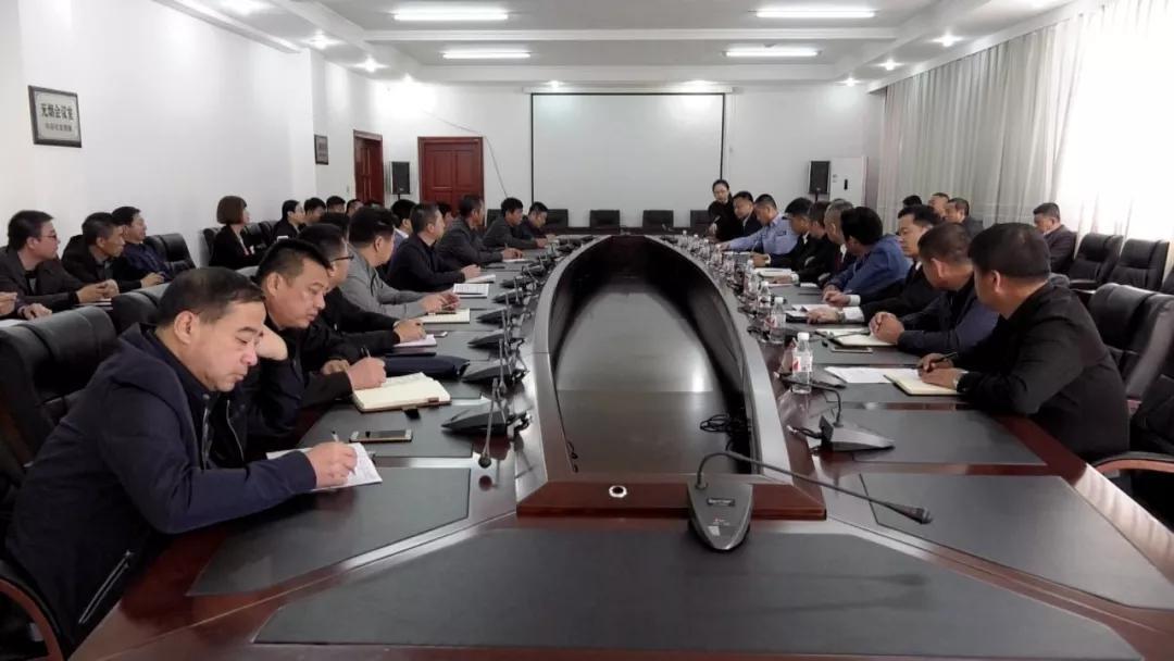 县委常委,政法委书记王玉海参加会议并讲话.